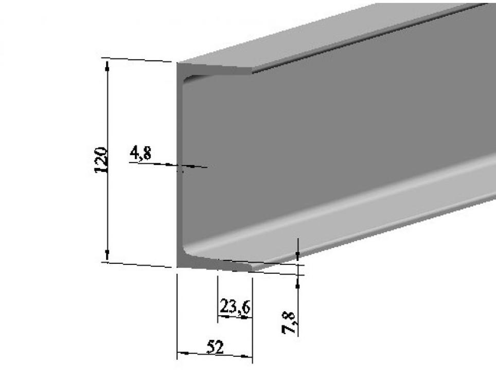 Швеллер 12 мм