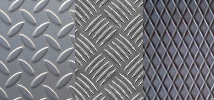 лист металлический рифленый