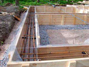 Цена арматуры 10 – 12 за метр для создания ленточного фундамента